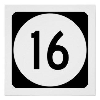 Kentucky Route 16 Poster