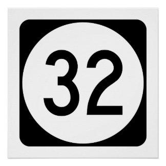 Kentucky Route 32 Poster