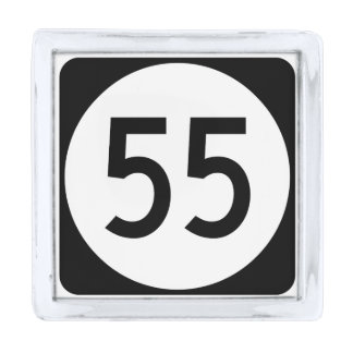 Kentucky Route 55 Silver Finish Lapel Pin