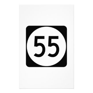 Kentucky Route 55 Stationery