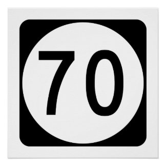 Kentucky Route 70 Poster