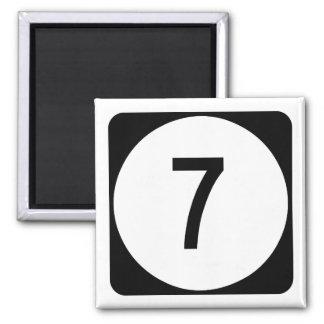 Kentucky Route 7 Magnet