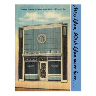 Kentucky, S&L, Newport Tarjeta Postal