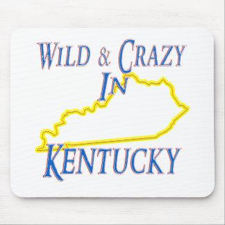 Kentucky - salvaje y loco alfombrillas de raton