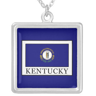 Kentucky Silver Plated Necklace