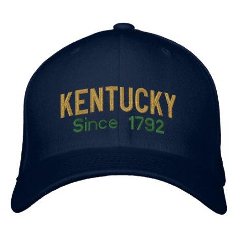 Kentucky Since 1792 Cap