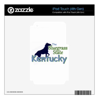 KENTUCKY SKIN FOR iPod TOUCH 4G