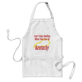 Kentucky - Smiling Adult Apron