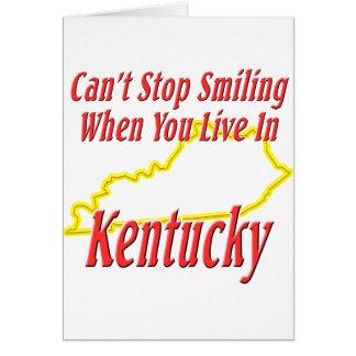 Kentucky - Smiling Greeting Cards