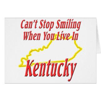 Kentucky - Smiling Greeting Card