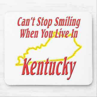 Kentucky - Smiling Mouse Pad