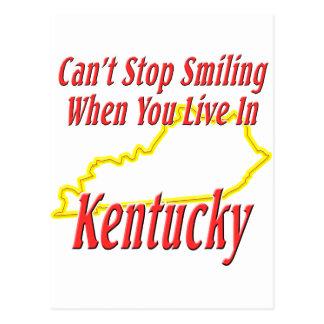 Kentucky - Smiling Post Card