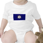 Kentucky State Flag Baby Bodysuit