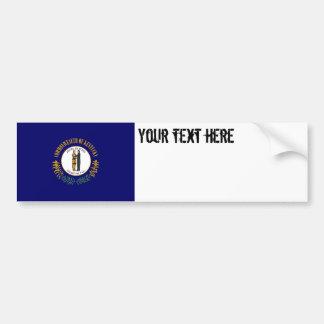 Kentucky State Flag Bumper Sticker