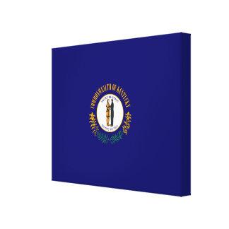Kentucky State Flag Design Canvas Print