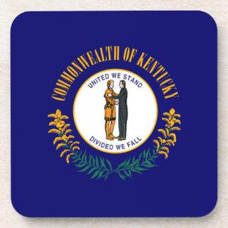 Kentucky State Flag Design Coaster