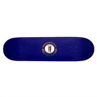 Kentucky State Flag Design Skateboard