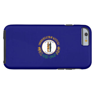 Kentucky State Flag Design Tough iPhone 6 Case