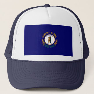 Kentucky State Flag Design Trucker Hat