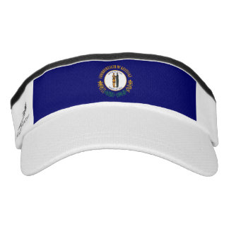 Kentucky State Flag Design Visor