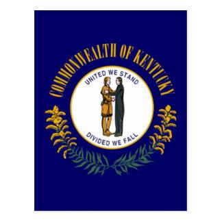 Kentucky State Flag Postcard
