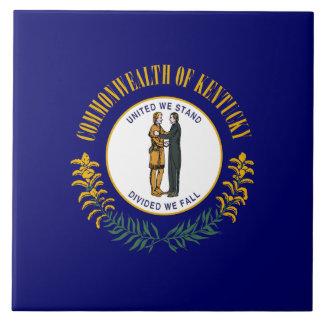 Kentucky State Flag Tile
