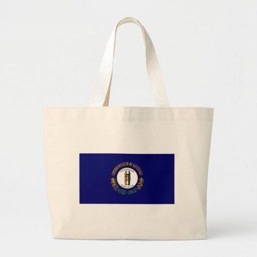Kentucky State Flag Tote Bags