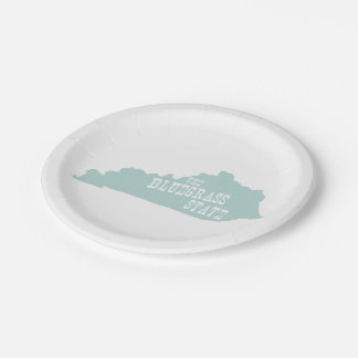 Kentucky State Motto Slogan 7 Inch Paper Plate
