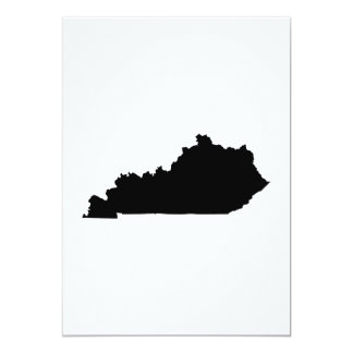 Kentucky state Outline Card
