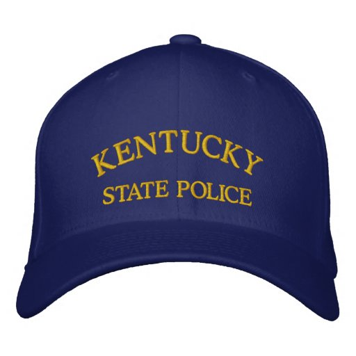 KENTUCKY, STATE POLICE EMBROIDERED BASEBALL CAP