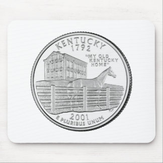 Kentucky State Quarter Mouse Pad