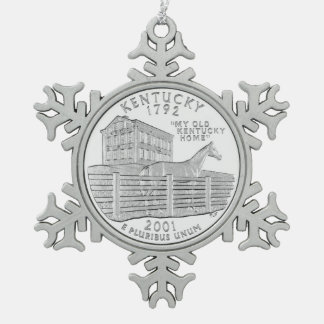 Kentucky State Quarter Ornaments