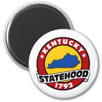 Kentucky Statehood 2 Inch Round Magnet
