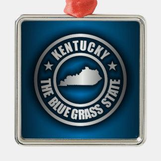 """Kentucky Steel (Blue)"" Metal Ornament"