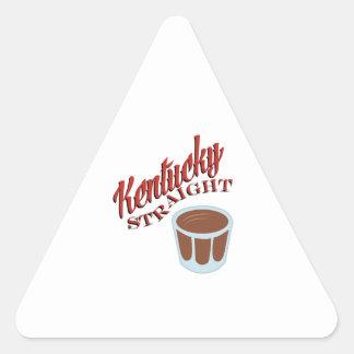 Kentucky Straight Triangle Sticker