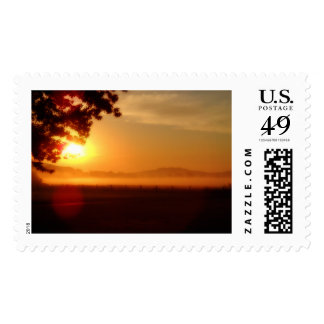 Kentucky Sunrise stamp