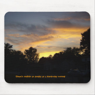 Kentucky Sunsets Mouse Pad