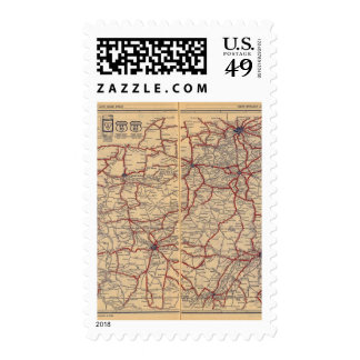Kentucky, Tennessee 3 Postage