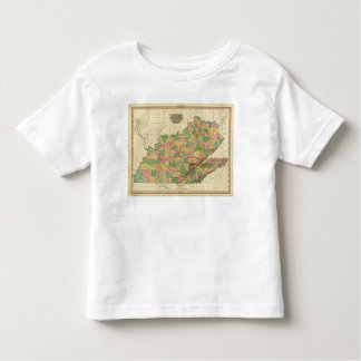 Kentucky, Tennessee and part of Illinois Toddler T-shirt