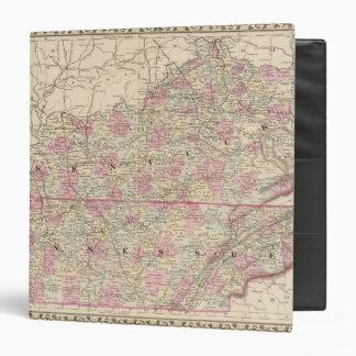 "Kentucky, Tennessee Carpeta 1 1/2"""