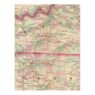 Kentucky, Tennessee Tarjetas Postales