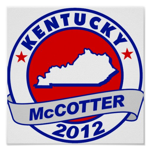 Kentucky Thad McCotter Póster