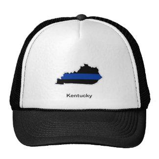 Kentucky Thin Blue Line Trucker Hat