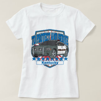 Kentucky To Protect and Serve Police Squad Car Shirt