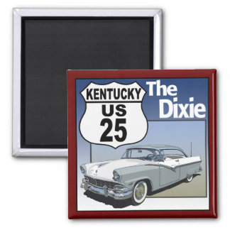 Kentucky US Route 25 - The Dixie Highway Magnets