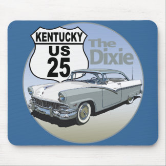 Kentucky US Route 25 - The Dixie Highway Mouse Pad
