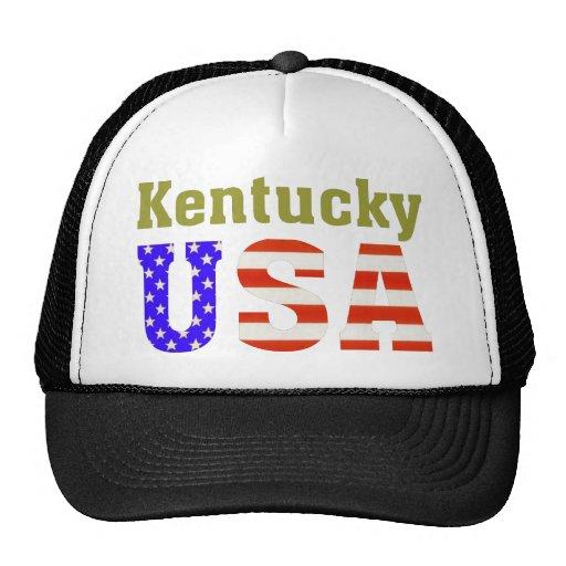 Kentucky USA! Mesh Hat
