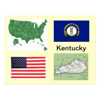 Kentucky USA Postcard