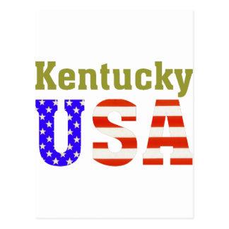 Kentucky USA! Postcard