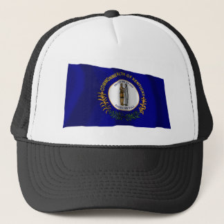 Kentucky Waving Flag Trucker Hat